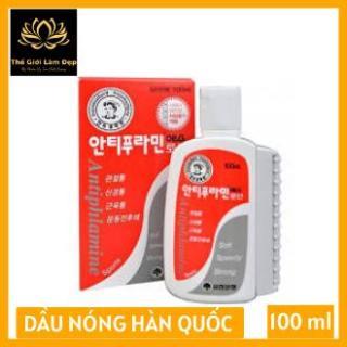 Dầu nóng Hàn Quốc Antiphlamine - Xoa bóp nhức mỏi 100ml [B.Thuy Shop] thumbnail