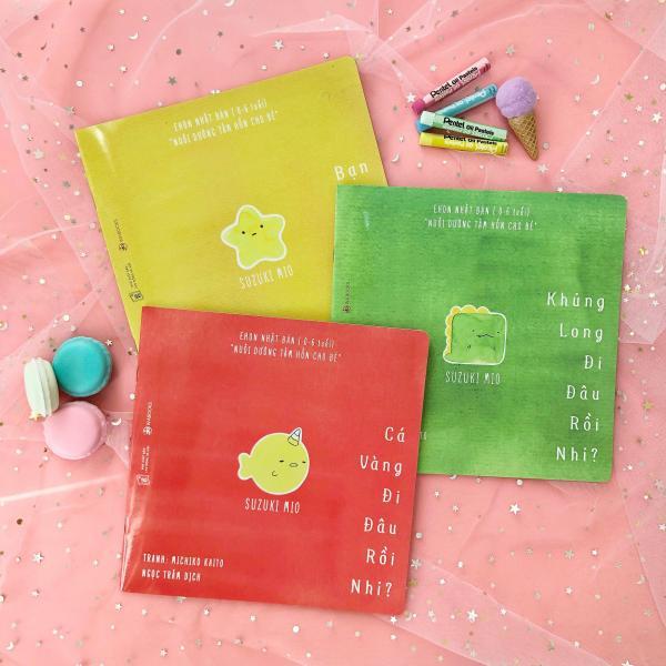 Mua Sách Ehon - Combo 3 cuốn Đi đâu thế - Ehon Nhật Bản dành cho bé từ 0 - 6 tuổi