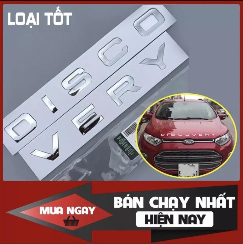 Bộ tem chữ nổi 3D DISCOVERY trang trí xe hơi ô tô MÀU BẠC SÁNG Chất liệu nhựa ABS bền sơn màu chắc chắn