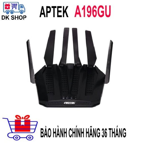 Bảng giá [HCM]Wifi Router APTEK A196GU Băng Tần 5Ghz Chuẩn AC1900/ 1299Mbps - Xuyên Tường Cực Mạnh -  - Bảo Hành 36 Tháng. Phong Vũ