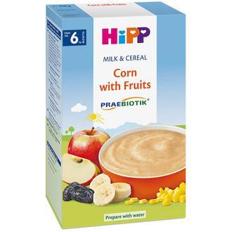 Bột ăn dặm Hipp hoa quả sữa bắp 2953 6th+