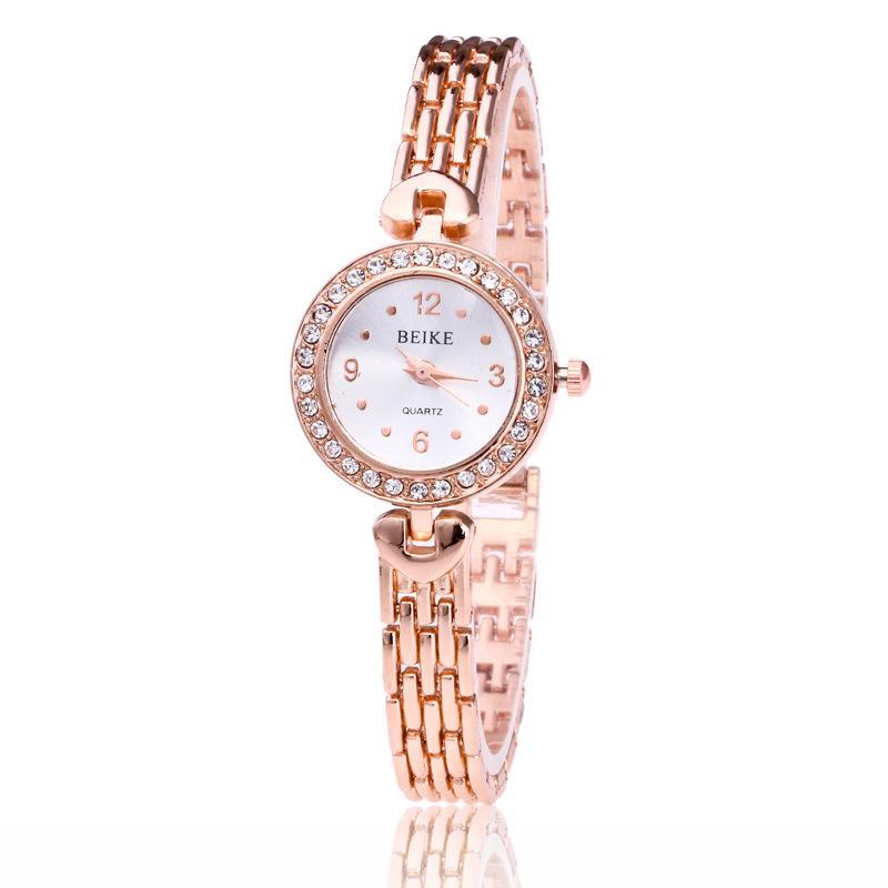 Nơi bán DH222- Đồng hồ nữ dây kim loại Beike MFS CB60 (Vàng)