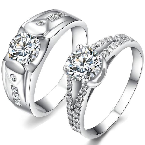 Nhẫn đôi Bạc Quang Thản, nhẫn cặp tình yêu chất liệu bạc thật không xi mạ có thể chỉnh size theo yêu cầu, khắc chữ miễn phí – QTND3