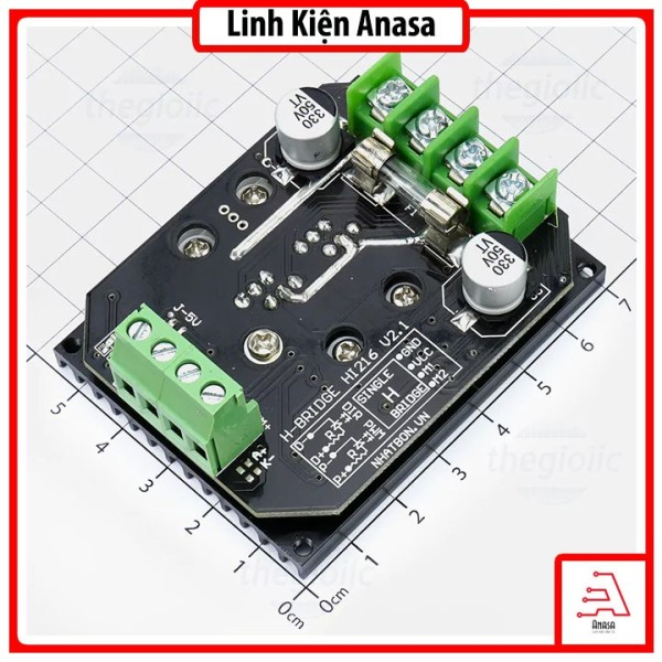 Bảng giá HI216 Mạch Cầu H 600W 15A - Điều khiển động cơ đa năng