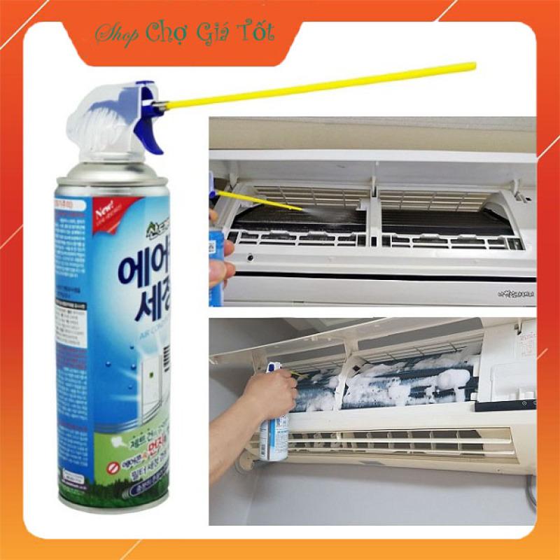Xịt vệ sinh bảo dưỡng điều hòa máy lạnh Hàn Quốc 330ml