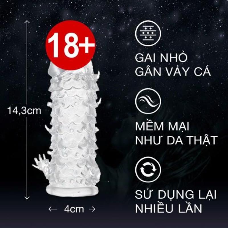 Bao Cao Su Đôn Dên Baile - Tăng Kich Thước - Kéo dài thời gian quan hệ (vảy cá)