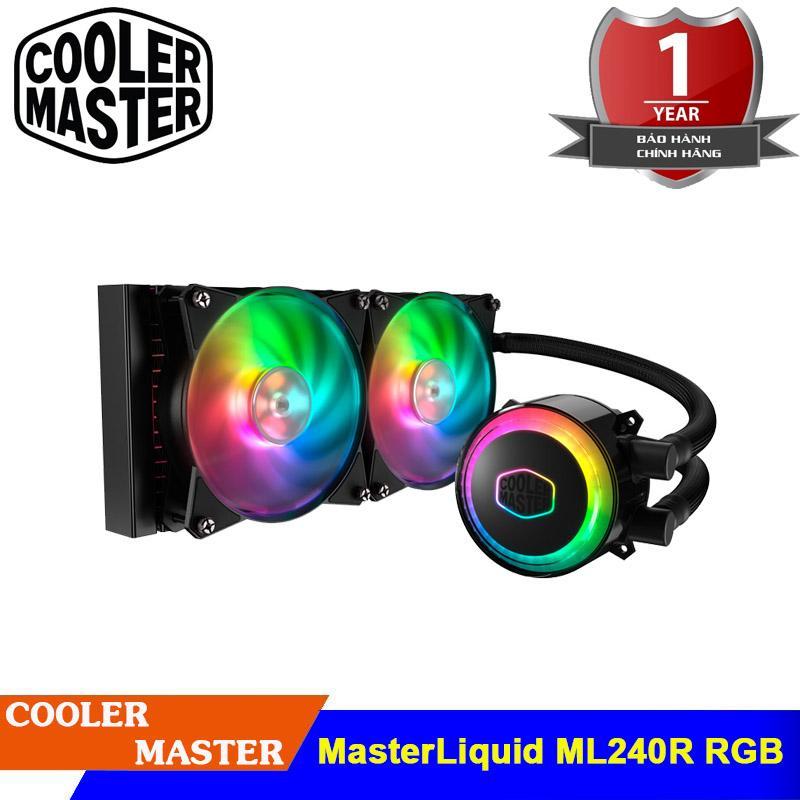Giá Tản nhiệt nước CPU Cooler Master ML 240R RGB MasterLiQuid (MLX-D24M-A20PC-R1)