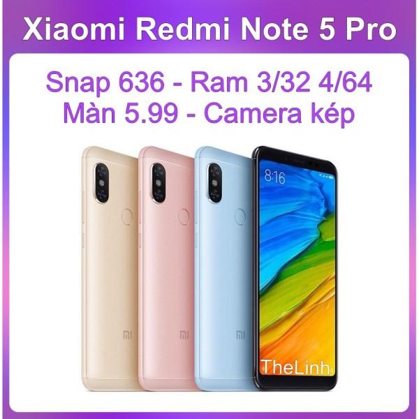 Điện thoại Xiaomi Redmi Note 5 PRO có Tiếng Việt