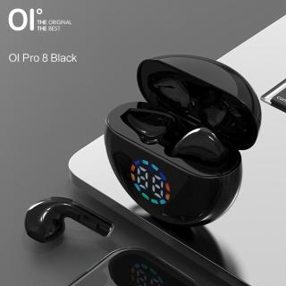 [Mới] OI Tai Nghe Không Dây Âm Thanh Nổi Thực Sự Bluetooth 5.0 PE, Màn Hình LED Âm Trầm Sâu Điều Khiển Cảm Ứng Có Micro thumbnail