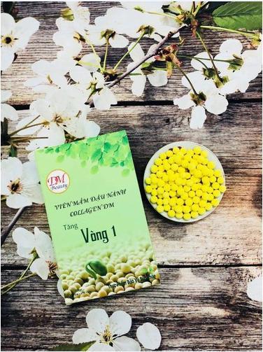 Voucher Khuyến Mại Hộp Viên Mầm đậu Nành Collagen DM 100gr Tăng Vòng 1