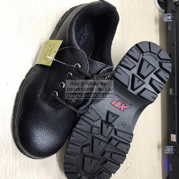 HOT Giày bảo hộ lao động ABC chữ XP màu đỏ - Chống Đinh - Mũi bọc sắt Hàng có sẵn - Sỉ lẻ toàn quốc