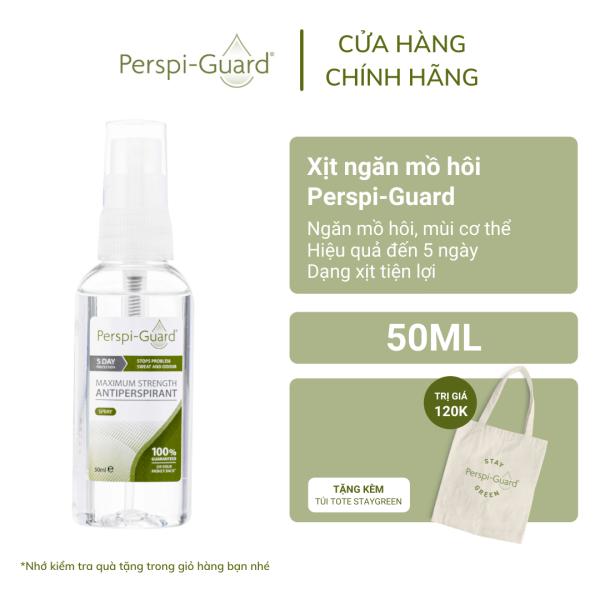 Xịt ngăn mồ hôi toàn thân hiệu quả tối đa Perspi-Guard Maximum Strength Antiperspirant Spray 50ml cao cấp