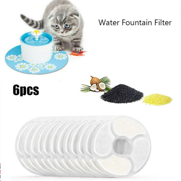 YOUZA96926 New Drinking Fit Flower Pet Water Filters Fountain Replacement Filter Cat Dog Water