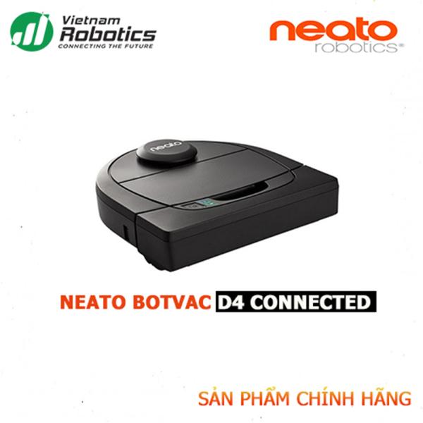 Robot hút bụi Neato D4 Connected - NK&PP Chính Hãng, bảo hành 24 tháng