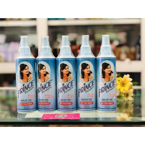 Keo xịt tóc giữ nếp cô gái Prince giá rẻ