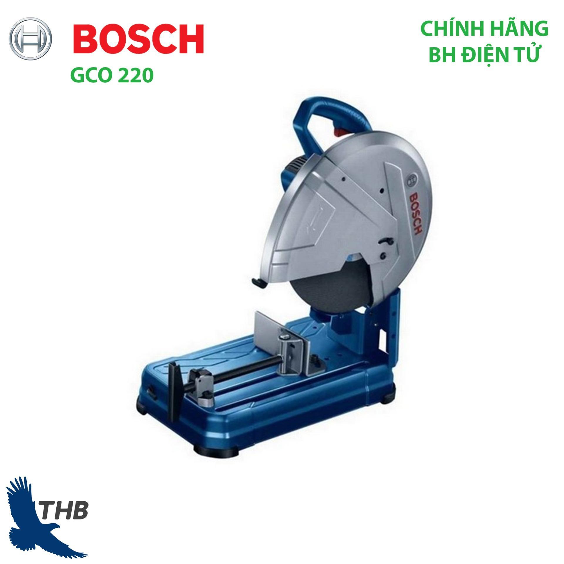 Máy cắt sắt, Máy cắt bàn, Máy cắt Bosch chính hãng GCO 220 ( Công suất 2200W, bảo hành điện tử 6 tháng) Là dòng mới của Bosch thay thế GCO 200, bán chạy số 1 năm 2019 đối với dòng máy cắt.
