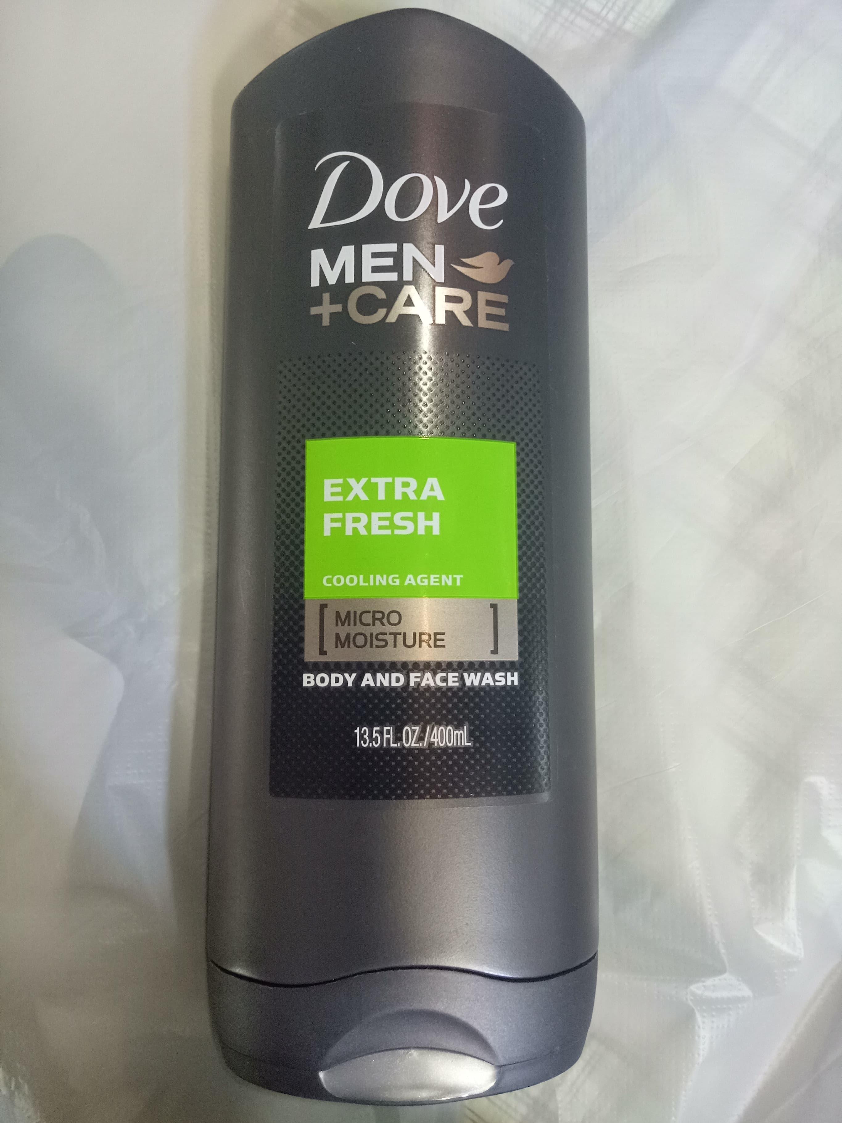 Tắm và rửa mặt nam Dove Men Care Extra Fresh 400 ML USA date 05/2020 nhập khẩu