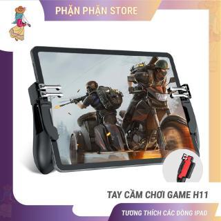 [HCM]Tay cầm chơi game H11 cho ipad máy tính bảng tay cầm chơi game 6 ngón pubg ros liên quân Phặn Phặn thumbnail
