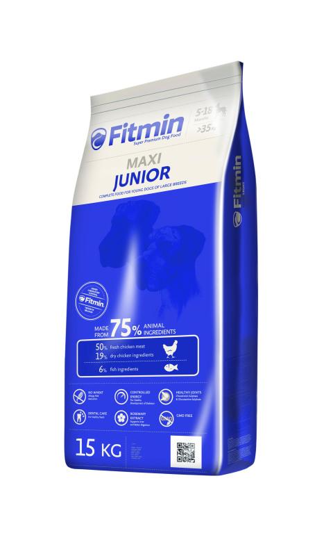 Fitmin Dog Maxi Junior  - Thức ăn giống chó lớn thời kì 5-18 tháng