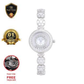 Đồng hồ nữ chính hãng Royal Crown Italy 5308 Jewelry Watch thiết kế thời trang, chất liệu bền đẹp, dễ phối trang phục thumbnail