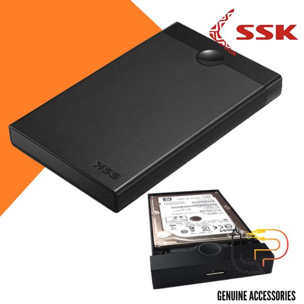 Bảng giá BOX GẮN HDD SSK SATA SHE 090 Chuẩn Sata 2.5 - Usb 3.0 Phong Vũ