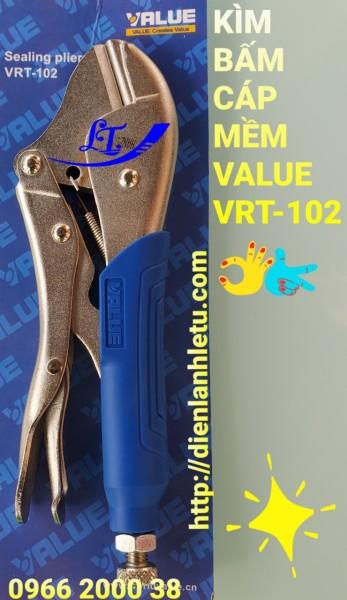 KỀM, KÌM BẤM ỐNG ĐỒNG VALUE VRT-102
