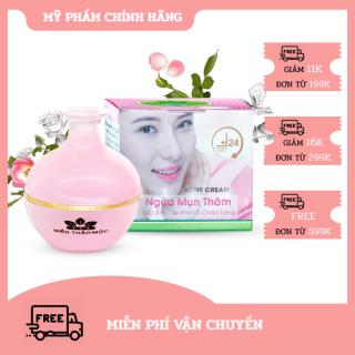 Kem Ngừa mụn thâm - Giữ ẩm - Se khít lỗ chân lông SPF 45+++ Acne Cream Miền Thảo Mộc (10g) thumbnail