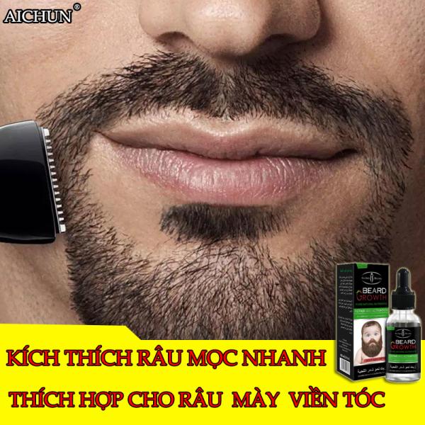 Tăng sựa quyến rũ của đàn ông trưởng thành ! Các phân tử nhỏ thực vật AICHUN Mọc Râu 30ML kích hoạt các nang lông nhanh chóng hơn. Làm râu dày và quyến rũ hơn, có sẵn râu, sừng hai bên, lông mi, lông mày (dầu tăng trưởng mọc râu tóc. Tin