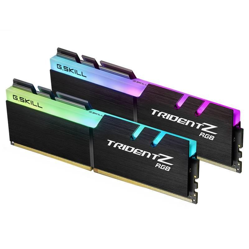 Ram GSKILL TridentZ RGB 32GB (2x16GB) DDR4 Bus 3000 F4-3000C16D-32GTZR