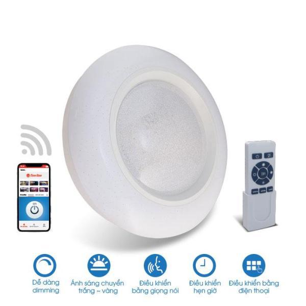 [RẠNG ĐÔNG] Đèn LED Ốp trần thông minh DIM + CCT + Wifi - D LN16L 500/48W.WF