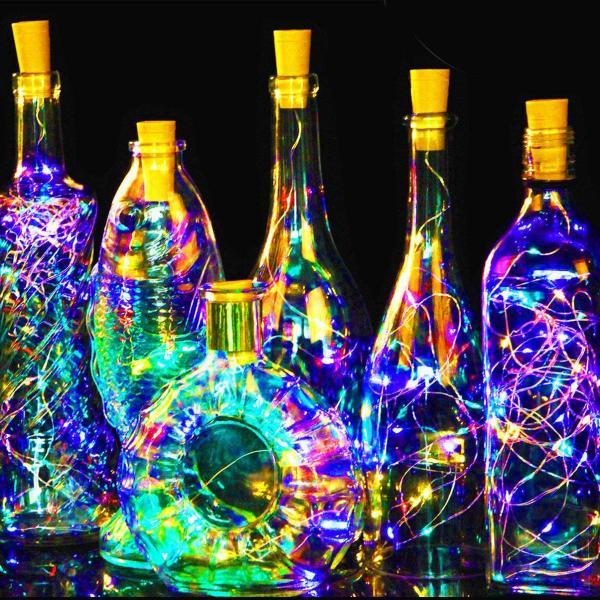 Đèn LED dạng nút chai dài 1m  trang trí các loại chai xinh xắn