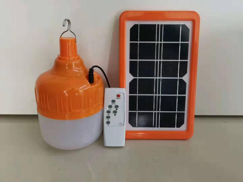 Đèn Bulb năng lượng mặt trời  50W, được thiết kế hiện đại, nhiều tính năng thông minh, đèn có tính năng bật-tắt tự động mỗi ngày.