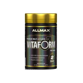Viên Uống Vitamin Tổng Hợp Dành Cho Nam Vitaform Allmax Hộp 60 Viên thumbnail