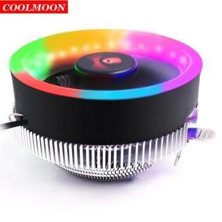 QUẠT TẢN NHIỆT CPU COOLMOON Q2 LED RGB thumbnail