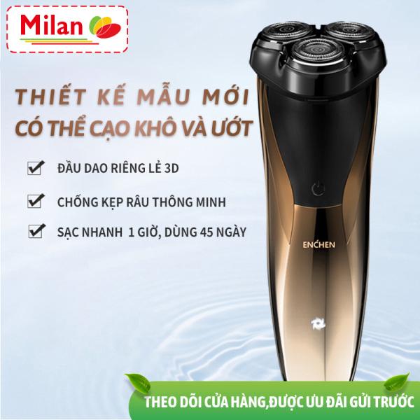 Bảng giá máy cạo râu XIAOMI ENCHEN Blackstone3CJ dùng điện Nam 3 đầu dao 3D Kiểu sạc điện cạo râu ria mép có thể rửa toàn thân máy cạo râu Điện máy Pico