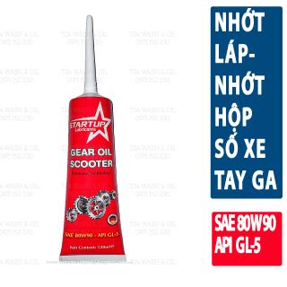 Nhớt hộp số x e máy STARTUP 80W90 120mL- Nhớt láp dành cho xe tay ga thumbnail