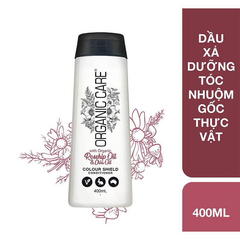 Dầu xả dưỡng tóc nhuộm gốc thực vật Organic Care chai 400ml