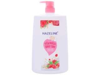Sữa tắm dưỡng ẩm sáng da Hazeline yến mạch dâu tằm 1.19 lít thumbnail
