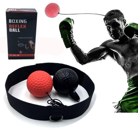 Combo 02 Bóng Phản Xạ Boxing Treo Đầu + Tặng Hộp Nhật Bản