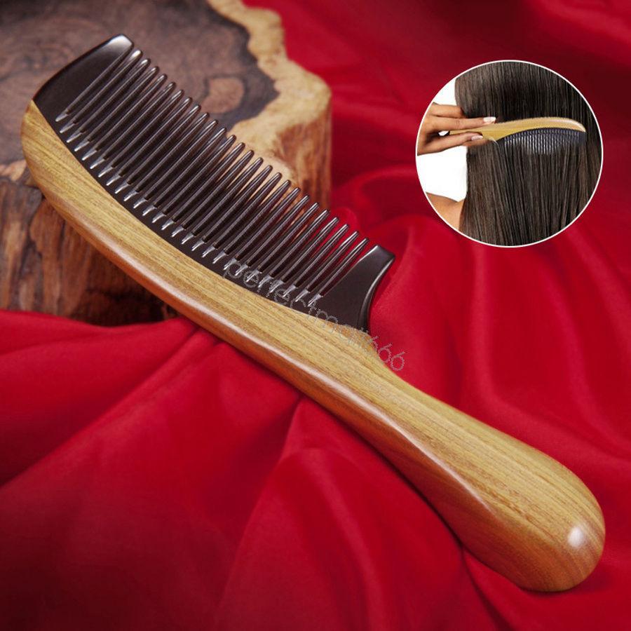 Lược Sừng gỗ hoàng đàn - Tiêu Chuẩn Xuất Nhật - Lược Chải Tóc