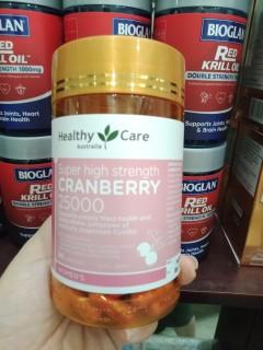Viên uống viêm đường tiết niệu và bàng quang Nature own Cranberry 50000mg 90 viên thumbnail