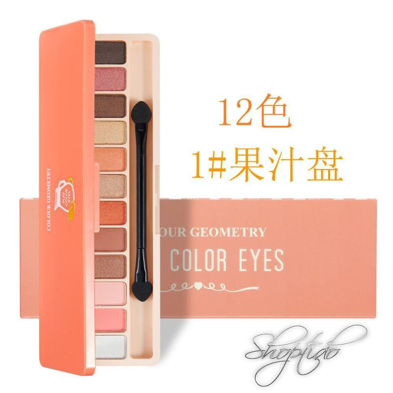 Bảng Phấn Mắt 10 màu Play Color Eyes Lameila