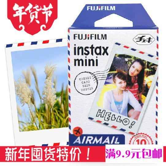 Mẫu Mới Fuji Polaroid Giấy In Ảnh Hình Ảnh Một Lần Mini8/7 S/25/90 Phim Hãng Hàng Không Phong Bì Diềm Hoa