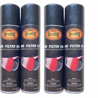 Dầu tẩm lọc gió SprayKing, chai dầu tẩm lọc gió xe SprayKing 200ml-giúp lọc trụ xe bạn phát huy tối ưu hơn thumbnail