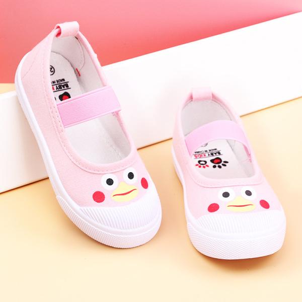 Giày búp bê vải cho bé gái 2- 13 tuổi