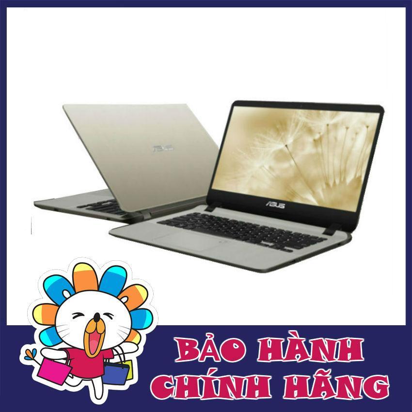 Laptop Asus X407UB-BV145T i5-8250U, 4Gb, 1Tb, 14, Vga 2Gb, Win 10 (Gold) - Hãng phân phối chính thức