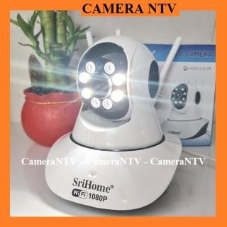 Camera IP Wifi SriHome 3 Râu 2.0 Mpx - Quay Màu Ban Đêm - Xoay 360 độ, Đàm Thoại 2 chiều thumbnail