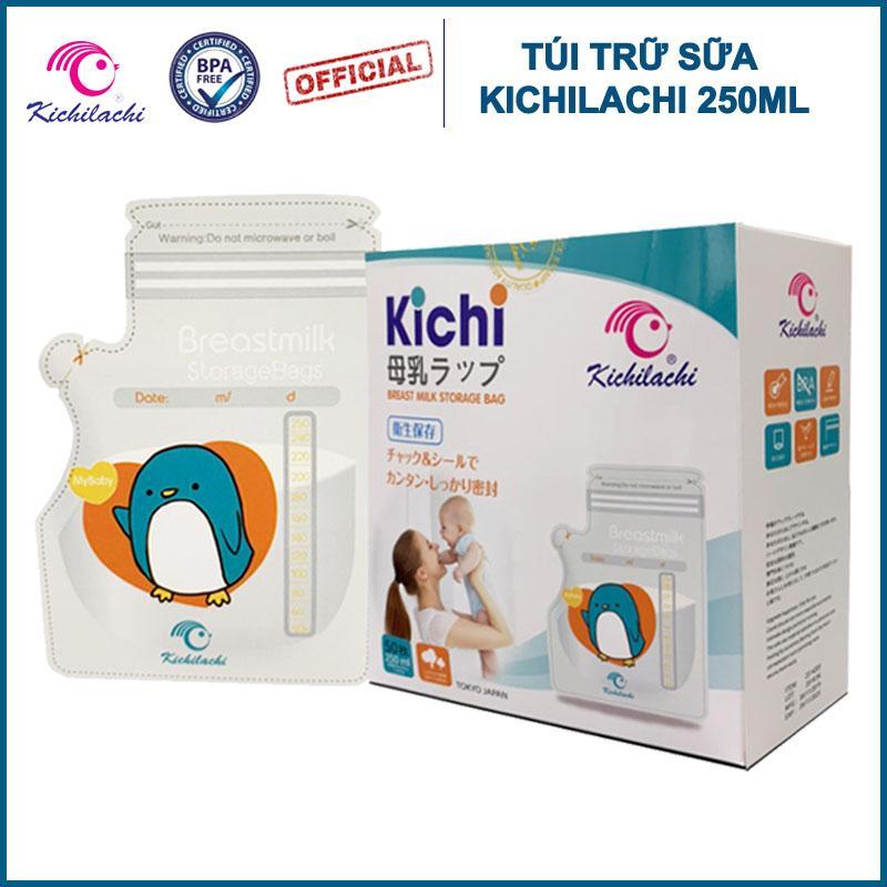 Coupon Ưu Đãi Túi Trữ Sữa Mẹ Kichilachi 250ml - Hàng Chính Hãng - Có Vòi Rót (Tặng Bút Ghi Dầu Theo đơn Hàng)