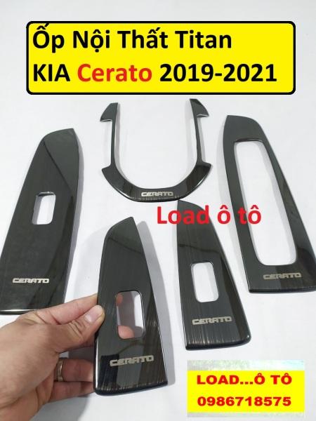 Ốp nội thất cerato 2019 - 2020 Titan cao cấp, Ốp Nội Thất Titan Cerato 2019 - 2020 Load ô tô