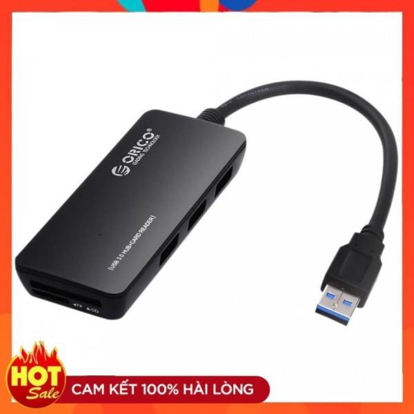 Bảng giá Bộ chia hub USB 2.0 orico h3ts-u2 3 cổng (tích hợp đầu đọc thẻ nhớ tf/SD) - bh 12t cam kết hàng đúng mô tả chất lượng đảm bảo an toàn đến sức khỏe người sử dụng Phong Vũ